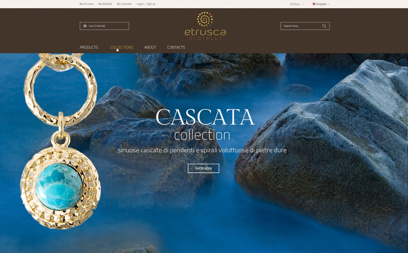 Alberto Sala Design - Etrusca gioielli