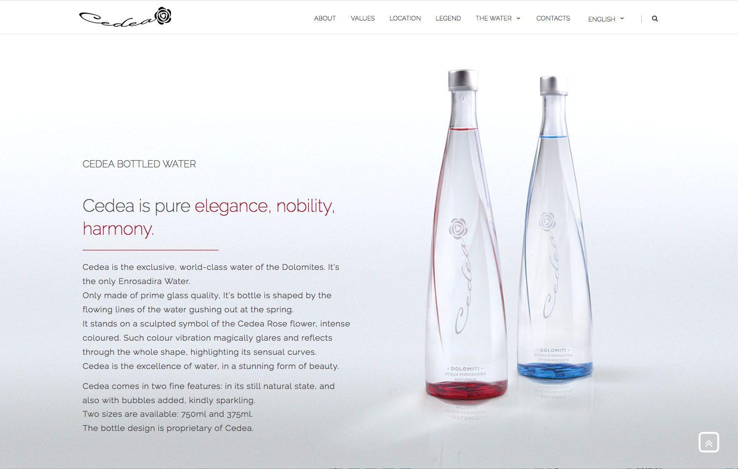 Alberto Sala Design - Cedea website