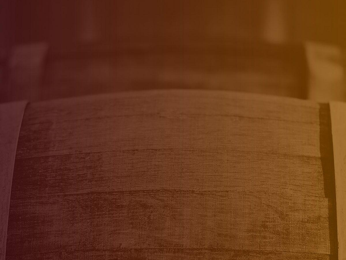 Barrel Casks Wood. Old barrel liquor casks outdoors during winter, wood with copy space. Slight vintage filter added.; Shutterstock ID 258325808